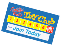 Smitty's Toy Club Card